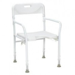 chaise de douche pliante