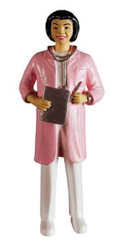 Infirmière figurine